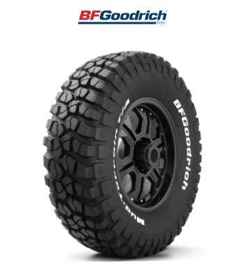 Llanta para camioneta bfgoodrich mud terrain t/a km2